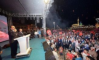 """Başkan Altay: """"15 Temmuz kahraman milletimizin eşsiz zaferlerindendir"""""""