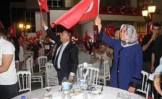 Başkan Beyoğlu şehit yakınları ve gaziler onuruna verilen yemeğe  katıldı