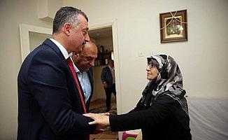 Başkan Büyükakın, 15 Temmuz Şehidi Edip Zengin'in ailesini ziyaret etti
