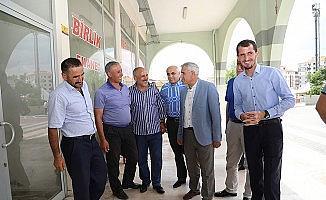 Başkan Güder doğu garajı esnafları ile bir araya geldi