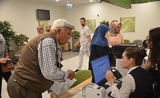 Bursa Şehir Hastanesi ilk güne 2500 randevu ile başladı