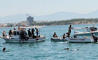 Didim'de deniz dibi temizliği