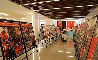 Erzincan'da 15 Temmuz Kronoloji Sergisi ile 15 Temmuz konulu kitap sergisi