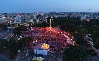 Gaziantep, 15 Temmuz gecesinde tek yürek oldu