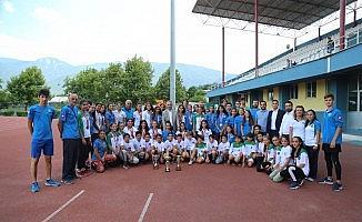 Genç sporcular Bursa'nın gururu