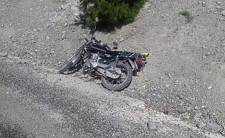 Gölbaşı İlçesinde motosiklet kazası