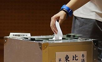 Japonya'da seçim sona erdi