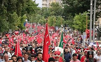 Kahramanmaraş'ta 15 Temmuz coşkusu