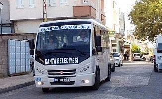 Kahta'da 15 Temmuz'da toplu ulaşım ücretsiz