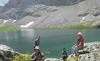Kayserili dağcılar Bolkar Dağları'na zirve yaptı