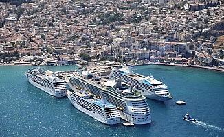 """Kuşadası ve Bodrum kruvaziyer limanları """"yeşil liman"""" sertifikası aldı"""