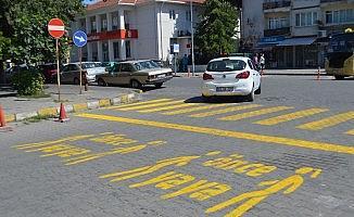 """Lüleburgaz'da 250 noktaya """"Önce yaya"""""""