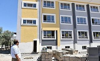 Mehmet Akif Ersoy İlkokulu inşaatı devam ediyor