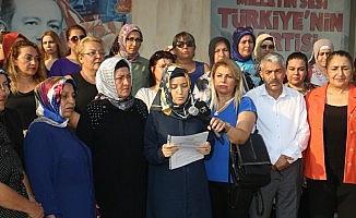 Mersin'de AK Parti'li kadınlar Srebrenitsa şehitlerini andı