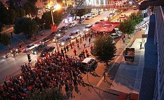 Mut'ta 15 Temmuz Demokrasi ve Milli birlik günü etkinlikleri