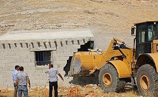 Nemrut Tahtı'nın yakınındaki kaçak yapılar yıkıldı