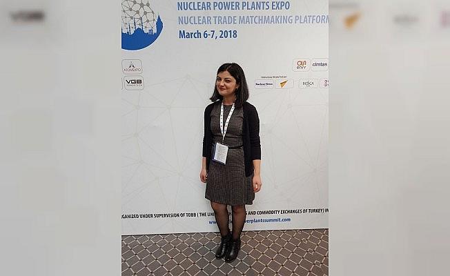 """NÜKAD-WIN Global Turkey Üyesi Yüksek Nükleer Mühendisi Gülçin Sarıcı Türkmen; """"Radyasyon ve NGS'lerle ilgili ön yargı ve korkular bilmemekten kaynaklanıyor"""""""