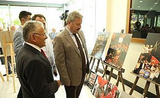 """Palancıoğlu, """"Bu sadece bir fotoğraf sergisi değil aynı zamanda Kayseri Basın Tarihi'ne ışık tutan bir sergi"""""""