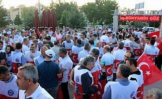 Sivil toplum kuruluşları 15 Temmuz'un 3. yıl dönümünde yürüdü