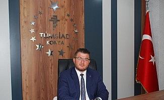 """TÜMSİAD Konya Şube Başkanı Ahmet Serçe: """"Milletimize yaşatılanları asla unutmayacağız"""""""