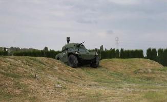 Türkiye'nin ilk elektrikli zırhlı aracı!
