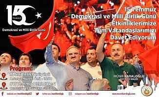 """Vali Karaloğlu:"""" 15 Temmuz Destanını gelecek nesillere aktarmak boynumuzun borcudur"""""""