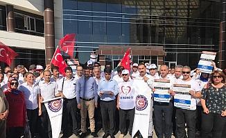 4D'li işçiler mali ve özlük haklarını İstedi