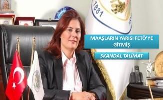 Aydın Büyükşehir'de 'Yönetim Kurulu Üyeleri'nin maaşlarının yarısı FETÖ'ye gitmiş .