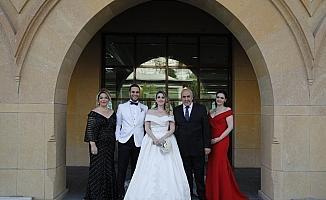 Bayram ve Akdoğan ailelerinin mutlu günü
