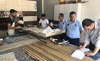 Besni'de zabıta ekipleri fırın denetimlerini sürdürüyor