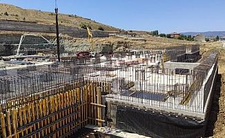 Bozüyük Şehir Hastanesi inşaatı tam gaz devam ediyor