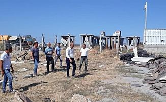Didim'de belediye beton santrali kuruluyor