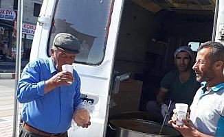 Erciş Belediyesinden çorba dağıtımı