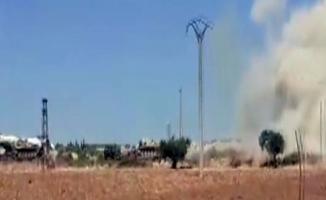 Esad rejiminden, TSK konvoyuna hava saldırısı