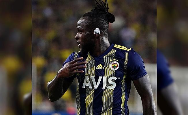 Fenerbahçe'nin Gazişehir Gaziantep ile oynadığı maçta sakatlanan Victor Moses'ın 5 hafta sahalardan uzak kalması bekleniyor.
