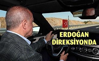 Erdoğan direksiyona oturdu
