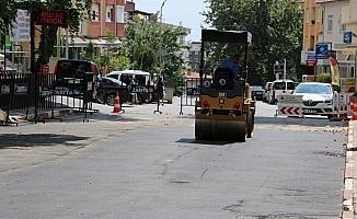 Kartal Belediyesi, asfalt onarım çalışmalarına hız kesmeden devam ediyor