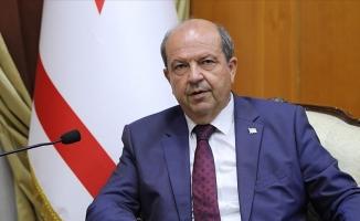 """KKTC Başbakanı Tatar: """"Hakkımızın peşindeyiz, hakkımızı kimseye yedirtmeyiz"""""""