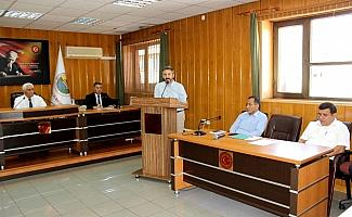 Milletvekili Aydın il genel meclis üyeleriyle biraya geldi