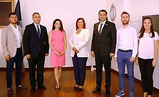Sökeli işadamlarından Başkan Çerçioğlu'na ziyaret
