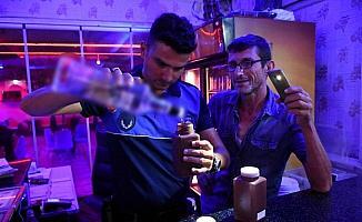 Tarsus'ta içkili mekanlar denetlendi