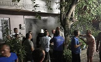 Tüp patladı, mahalle ayağa kalktı