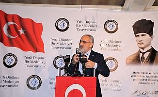 """Yalçın Topçu: """"Türkiye Cumhuriyeti  devlet olmanın gereğini hukuk içerisinde yapar"""""""