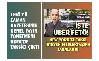 Zaman Gazetesi eski yayın Yönetmeni Uber'de taksiciliğe başladı