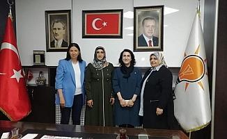 Zeytun Şener kadın kolları başkanlığına getirildi