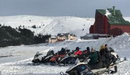 Bursalılar, kar hasretini Uludağ'da giderdi