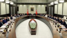 Bakanlar Kurulu toplantısı son buldu