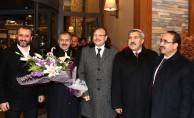Çavuşoğlu ve Eroğlu'nun teleferik keyfi