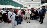 Ankara'dan ilk hacı kafilesi yola çıktı