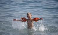 Kasımda deniz ve yamaç paraşütü keyfi